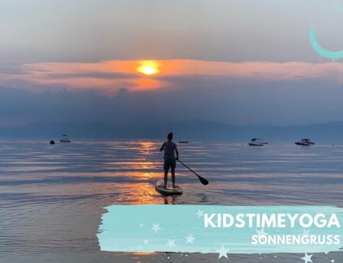 Kinder-Hörspiel-Yoga Folge 15 Sonnengruß